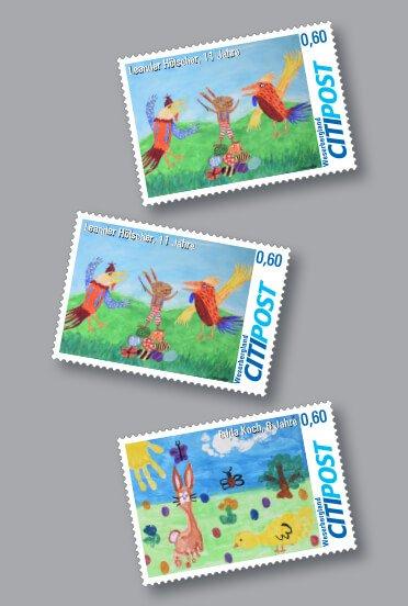 Senden Sie Ihre Post passend mit unseren Oster-Briefmarken