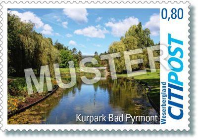 CITIPost Weserbergland - Bad Pyrmont 2019 - Einzelmarken
