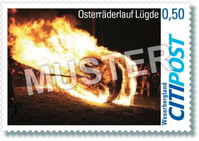 CITIPost Weserbergland - Lügde 2019 - Einzelmarken