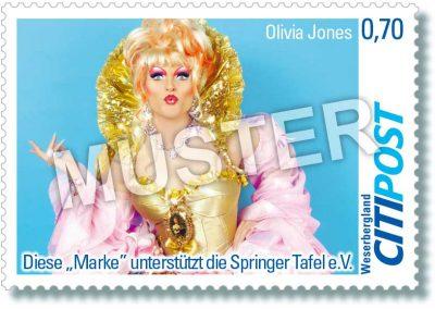 CITIPost Weserbergland - Olivia Jones 2019 - Einzelmarke