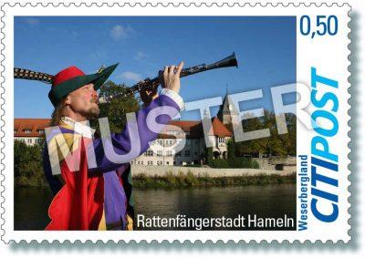 CITIPost Weserbergland - Rattenfänger 2019 - Einzelmarken